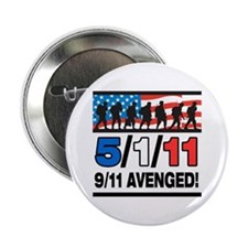 "5/1/11 9/11 Avenged 2.25"" Button"