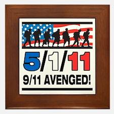 5/1/11 9/11 Avenged Framed Tile