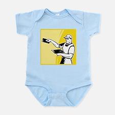 plasterer worker tradesman Infant Bodysuit