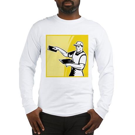 plasterer worker tradesman Long Sleeve T-Shirt
