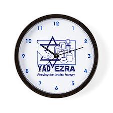 Yad Ezra - Kosher Food Pantry Wall Clock