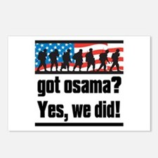 Got Osama? Postcards (Package of 8)