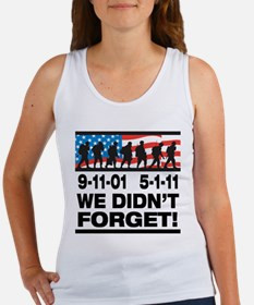 We Didn't Forget 9-11-01 Women's Tank Top