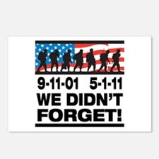 We Didn't Forget 9-11-01 Postcards (Package of 8)