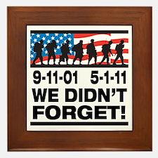 We Didn't Forget 9-11-01 Framed Tile