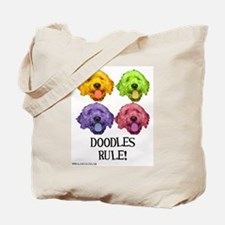 Doodles Rule Tote Bag