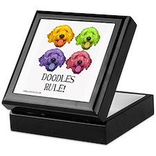 Doodles Rule Keepsake Box