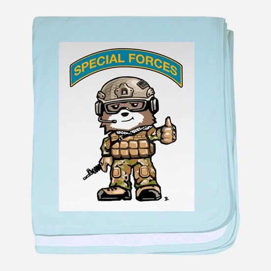 Cute Special operations baby blanket