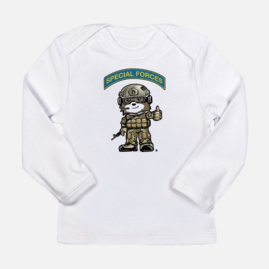 Cute Military special operational forces Long Sleeve Infant T-Shirt