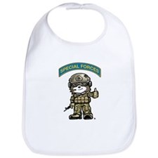 Cute Special forces Bib