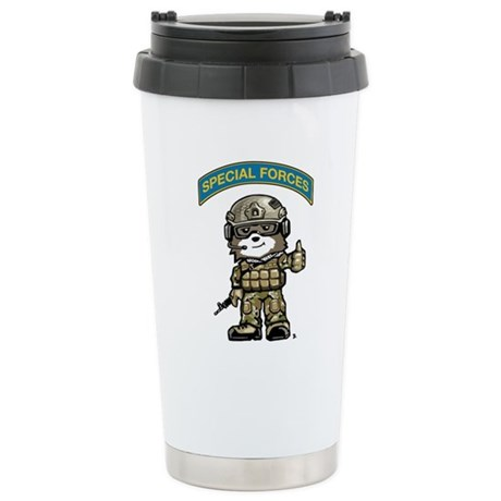 SPECIAL FORCES BEAR Multicam Stainless Steel Trave