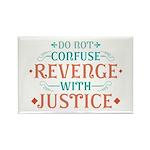 Anti Revenge Rectangle Magnet (100 pack)