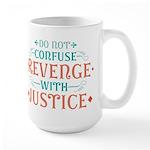 Anti Revenge Large Mug