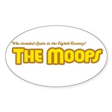 The Moops Oval Decal