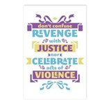 Don't Celebrate Violence Postcards (Package of 8)