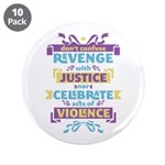 "Don't Celebrate Violence 3.5"" Button (10 pack)"