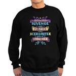 Don't Celebrate Violence Sweatshirt (dark)
