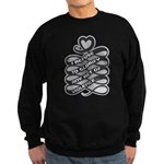 Refuse Glorify Violence Sweatshirt (dark)