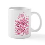 Pink Anti-Violence Mug