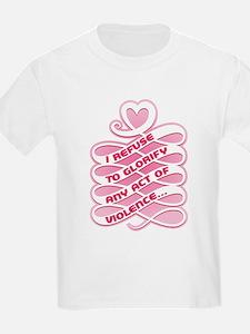 Pink Anti-Violence T-Shirt