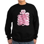 Pink Anti-Violence Sweatshirt (dark)