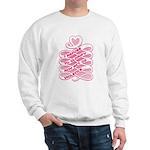 Pink Anti-Violence Sweatshirt