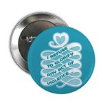 "No Glorifying Violence 2.25"" Button (100 pack)"