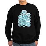 No Glorifying Violence Sweatshirt (dark)