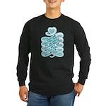 No Glorifying Violence Long Sleeve Dark T-Shirt