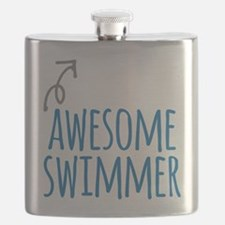 Awesome swimmer Flask