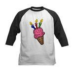 I'm 3 Ice Cream Kids Baseball Jersey