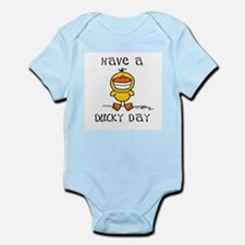 Ducky Day Infant Creeper