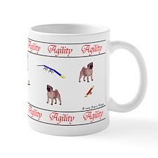 """""""Pug Agility"""" Mug"""