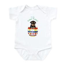 Easter Airedale Infant Bodysuit