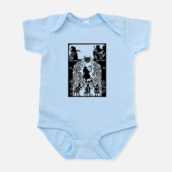 Alice in Wonderland Silhouette Infant Bodysuit