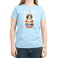 Easter Beagle Women's Pink T-Shirt