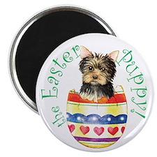 Easter Yorkie Magnet