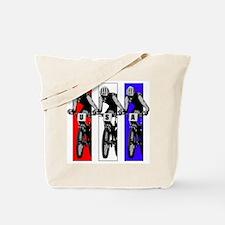 USA Biking Tote Bag