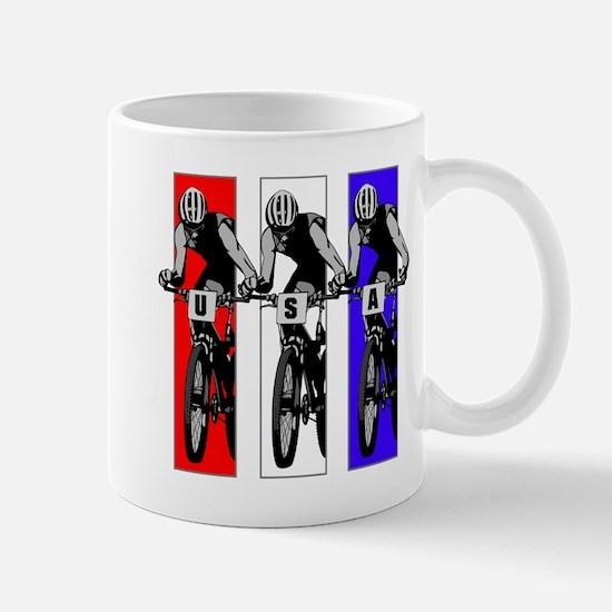 USA Biking Mug
