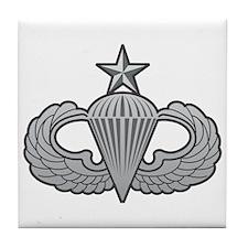 Senior Wings Tile Coaster