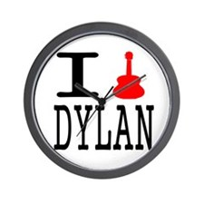 Listen To Dylan Wall Clock