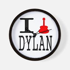 Listen To Dylan Wall Clock