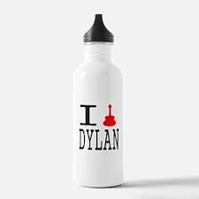 Listen To Dylan Water Bottle