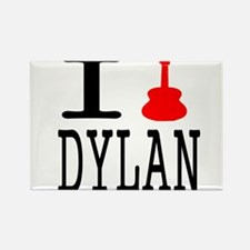 Listen To Dylan Rectangle Magnet