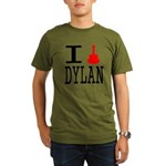 Listen To Dylan Organic Men's T-Shirt (dark)
