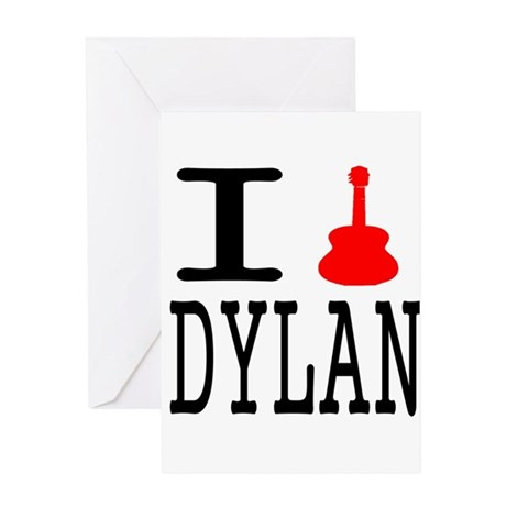 Listen To Dylan Greeting Card