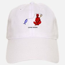 Gone Fishin' Baseball Baseball Cap