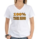 Tiger Blood Women's V-Neck T-Shirt