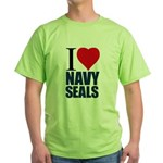 I love Navy Seals Green T-Shirt