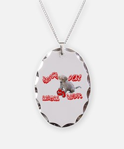 Knock Out Animal Abuse Necklace